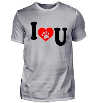 Pfote Liebe Herz Geschenk Valentinstag