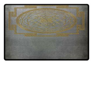 SRI YANTRA - luck prosperity I - gold