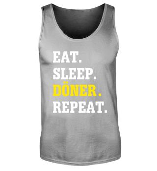 Eat Sleep Döner Repeat Tank-Top