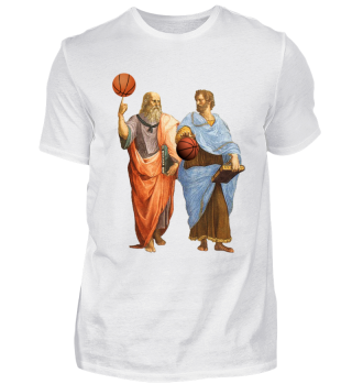 Plato & Aristotle - Basketball Match