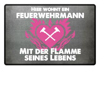 Feuerwehrmann - Flamme seines Lebens