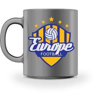 Football Crest Of Europe