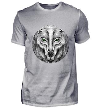 ☛ SCHUTZGEIST · WOLF · KREIS · GRUNGE #4