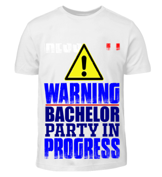 GIFT-BACHELOR PARTY IN PROGRESS BLUE