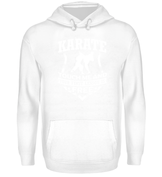 Karate touch me!