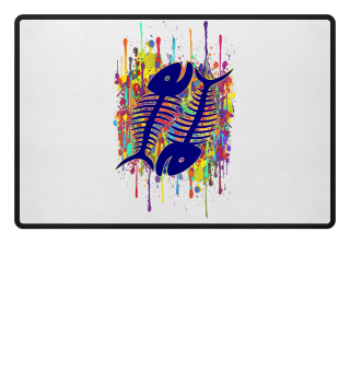 ★ Crazy Running Splashes - Fish Bones 1
