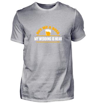 Buy me a beer - my wedding is near