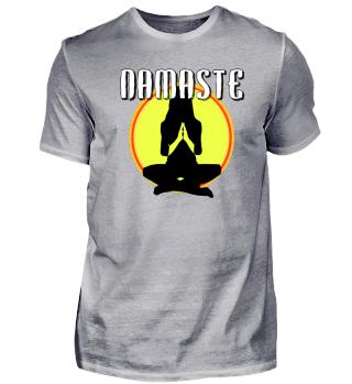 Namaste - Meditation vor Sonne