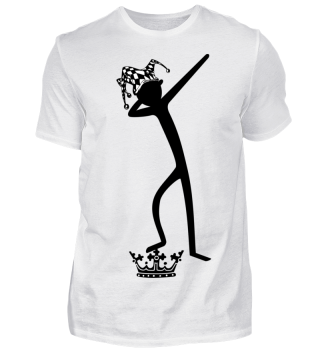 Dabbing Stick Figure - FOOL Crown I