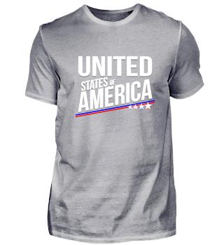 United States of America USA Sterne