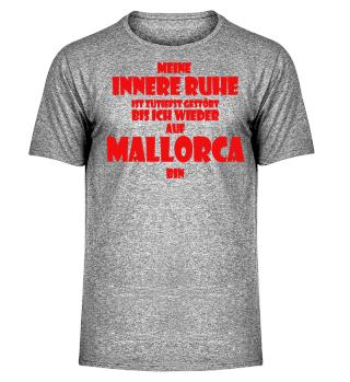 Mallorca Innere Ruhe rot
