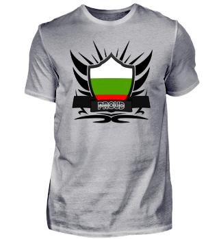 Bulgarien Proud Wappen Flagge 011