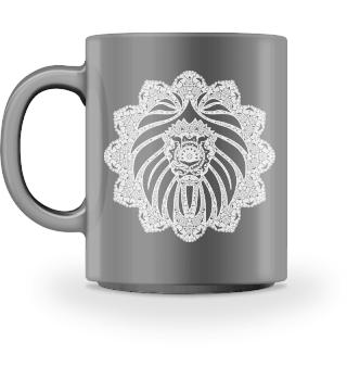 ♥ Vintage Ornaments Mandala I Lion II
