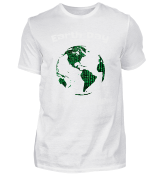 Earth Day No Backup Binary Code Gift