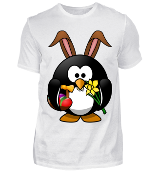 Pinguin Linux Ostern Osterhase