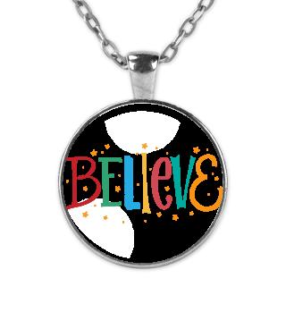 Believe Merry Christmas X-Mas Christian