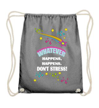 DON'T STRESS RAUMFAHRT COMIC GESCHENK