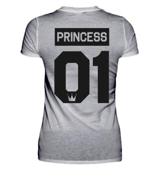 PRINCESS 01 - Partnershirt Partnerlook