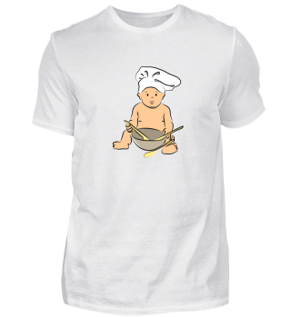 Funny Cute Baby Chef Cooking Mom Gift