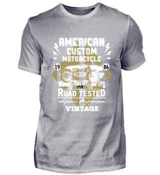 ☛ American Custom Motorcycle · Vintage #1.3