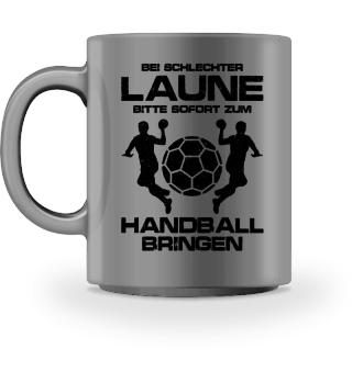 Schlechtgelaunt? Zum Handball! - Geschenk