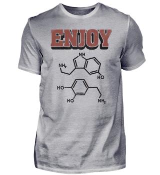 Science Enjoy Serotonin Dopamine Element