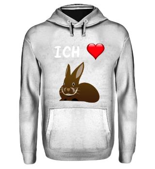 Hoodie mit Kaninchen