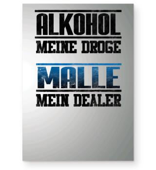 ALKOHOL MALLE STRAND SAUF TOUR Shirt