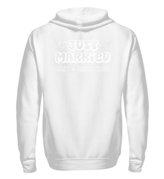 JUST MARRIED - Name weiss