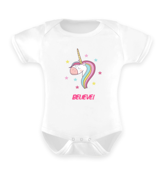 Believe Magical unicorn sweet gift