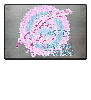 Happy Hanami Cherry Blossoms Mandala 1