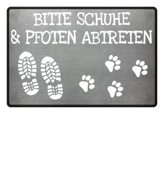 Hund Fußmatte