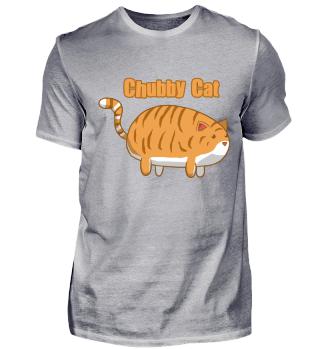 Chubby Cat Orange