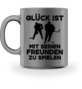 Eishockey: Mit Freunden spielen - Geschenk