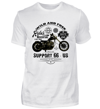 ☛ RiDER · SUPPORT 66 · US #7