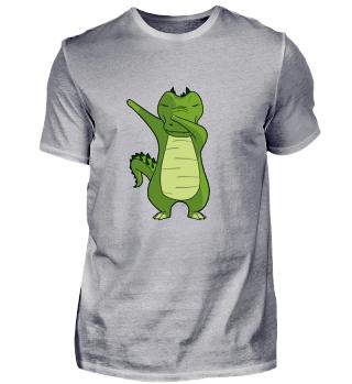 Cute Dabbing Dancing Kroko Krokodil