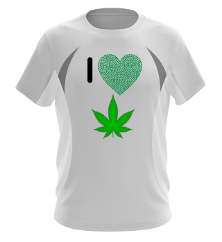 I love Weed/Present for smokers