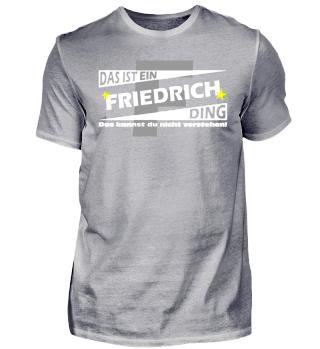 FRIEDRICH DING | Namenshirts