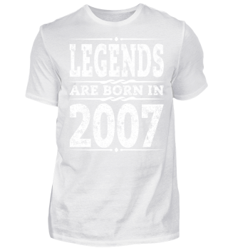 2007 10th Birthday T-Shirt Gift