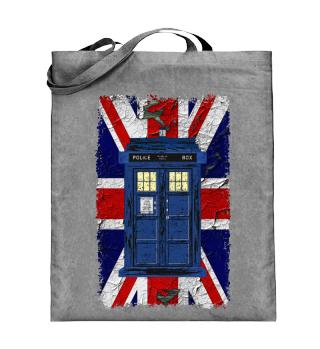 United Kingdom Flag Police Box - Tasche