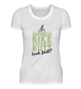 Bycicle Shirt Fast Butt