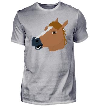 Pferdemaske 8Bit