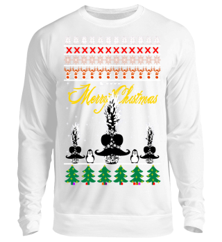 Ugly Christmas Sweater Ananas