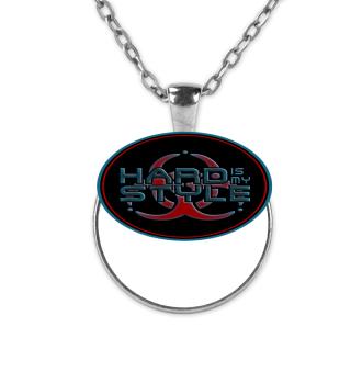 Hard Is My Style - Biohazard Button