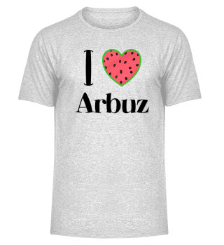 I LOVE ARBUZ - WATERMELON RUSSIAN FOOD