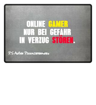 Online Gamer nur bei Gefahr in Verzug