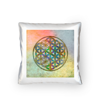Flower Of Life - Antique Grunge Colors 1