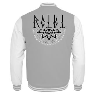 ♥ REIKI - Retro Heart Mandala - black