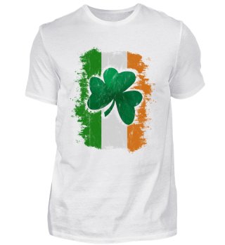 St Patricks Day Irish Flag Shamrock Gift