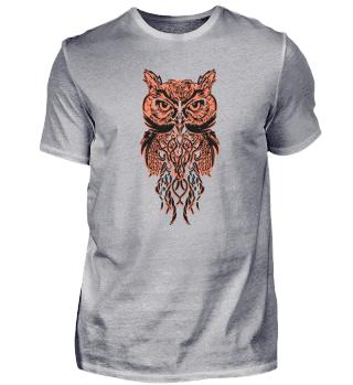 Owl in Mandala Pattern